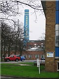 SJ9101 : Goodyear Factory from the A449 by Angella Streluk