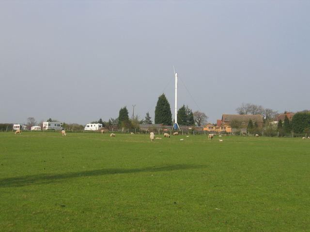 Mast at Hill Farm