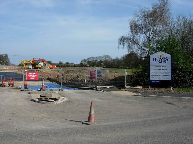 New housing site