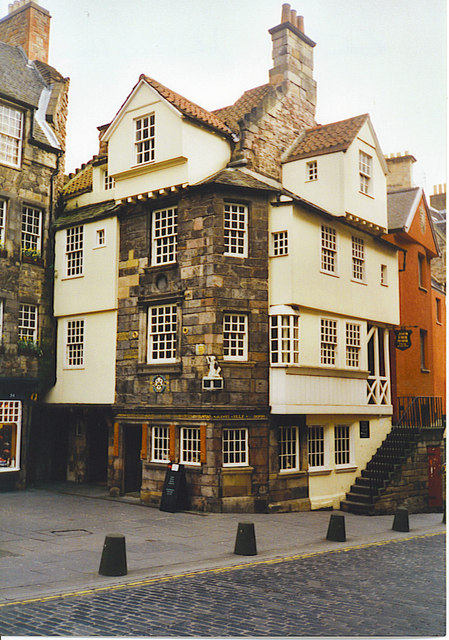 John Knox House, High Street