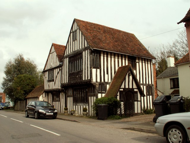 Ancient House, Stratford St. Mary, Suffolk