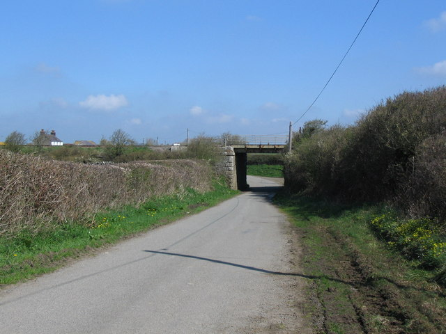 Rail overbridge