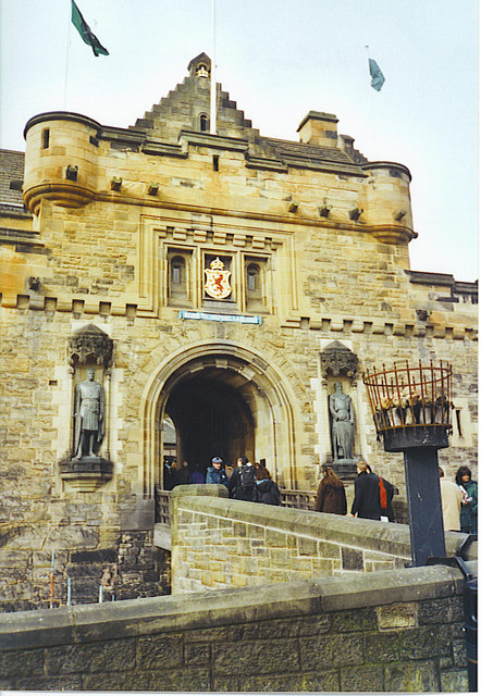 Edinburgh Castle Gateway.