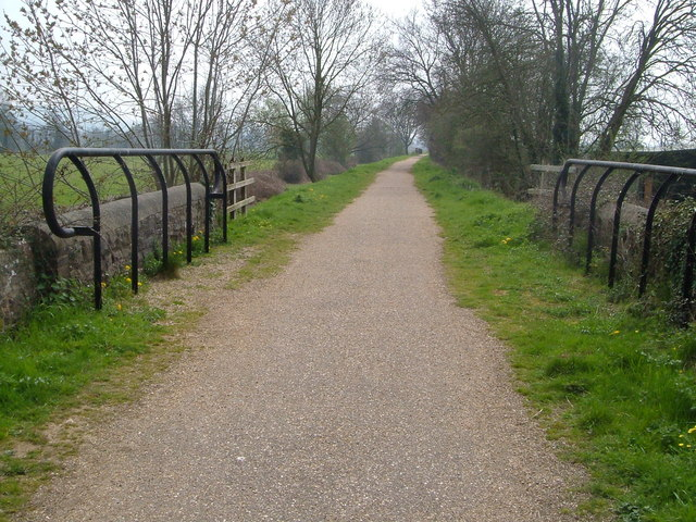 Disused railway cycleway, Donyatt
