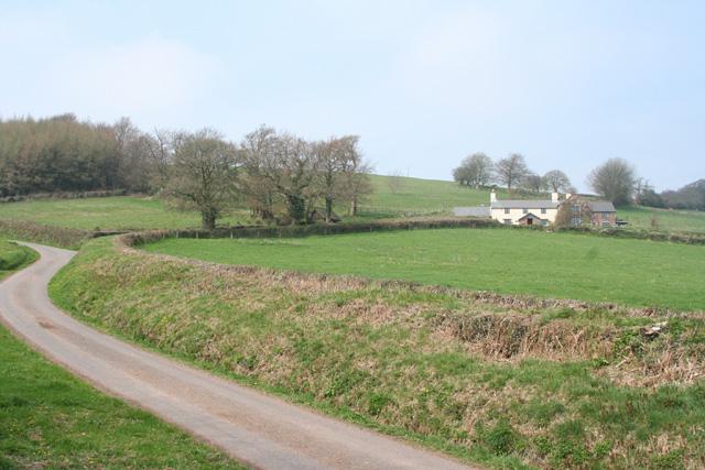 Brompton Ralph: approaching Lumey Farm