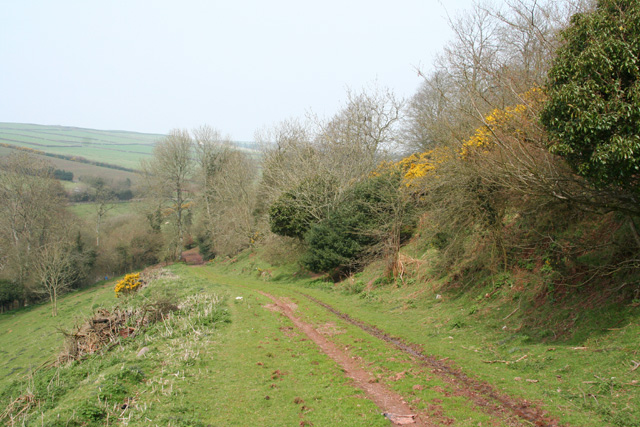 Clatworthy: bridleway near Week Farm