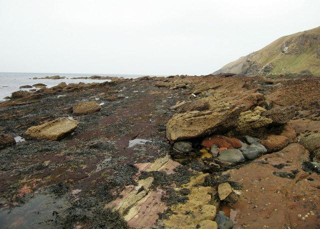 Greenheugh Bay, Old Cambus