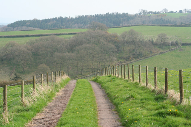 Brompton Ralph: track to Leigh's Cottages