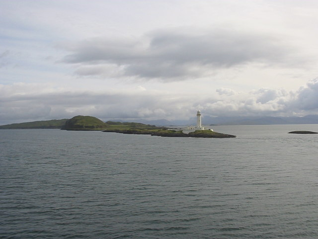 Lismore Lighthouse from the West
