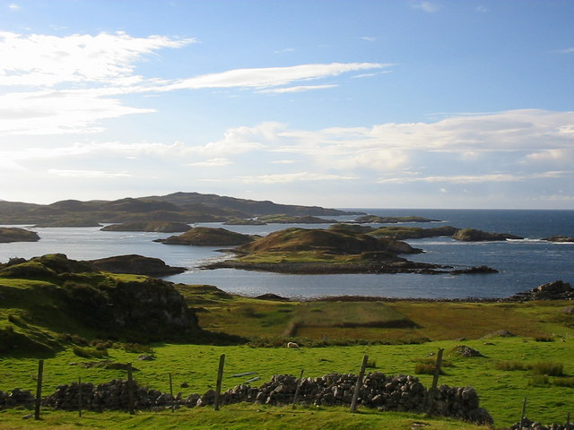 Islands West of Culkein Drumbeg