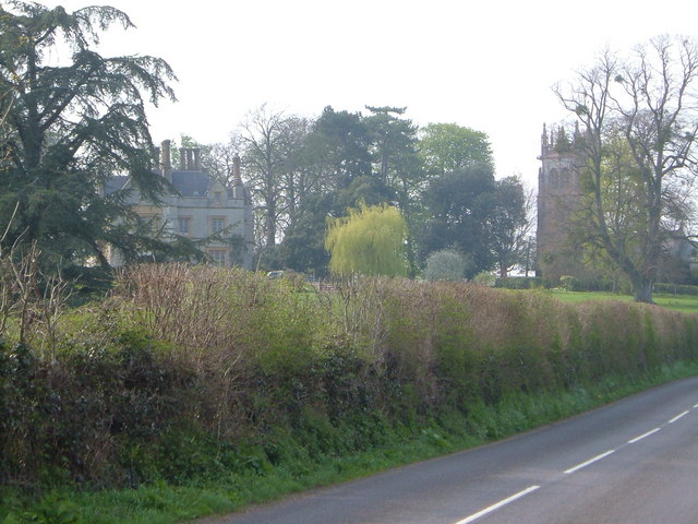 Staple Fitzpaine manor house and church