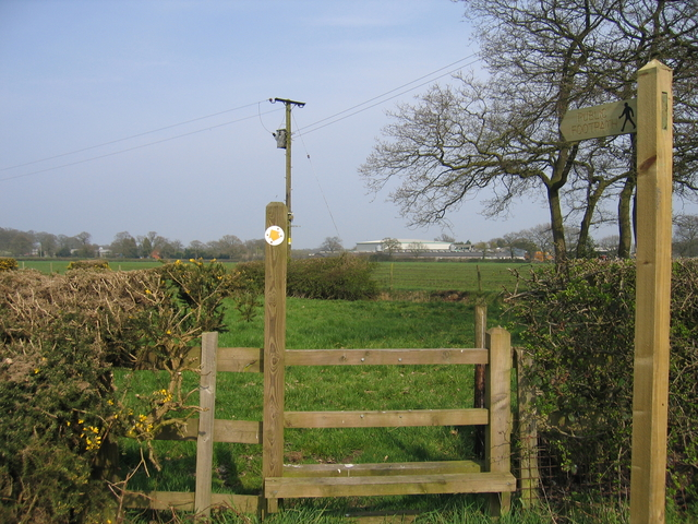 Footpath to Brockhill Wood