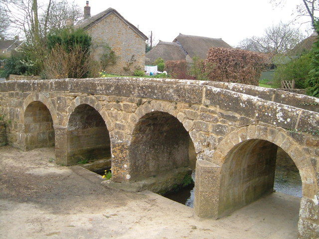 Packhorse Bridge, Dowlish Wake