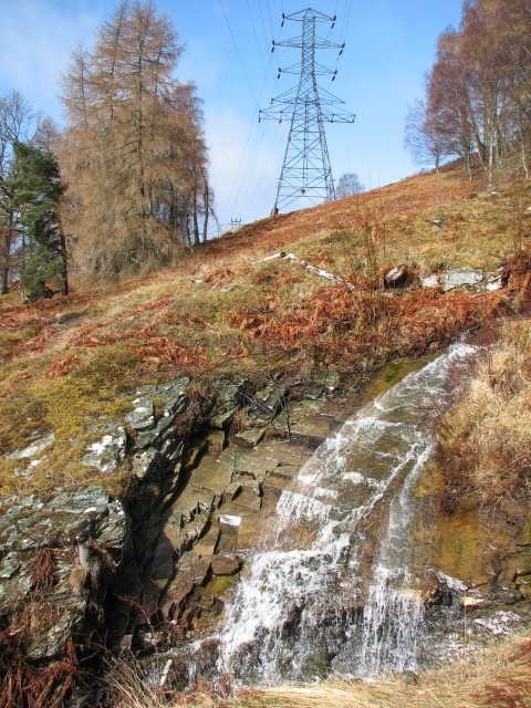 Pylons and stream