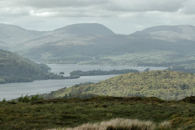 Windermere from the top of Moor How