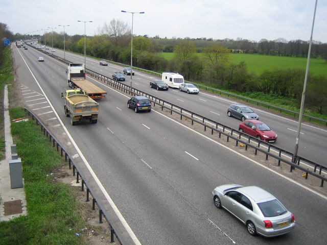 M4 Motorway near Bray