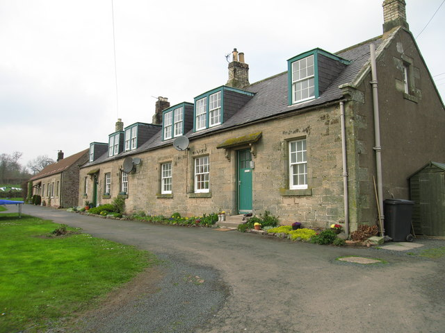 Cottages at Greenburn, Auchencrow