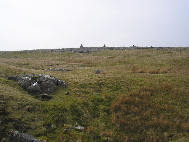Cairns on Ingleborough Common