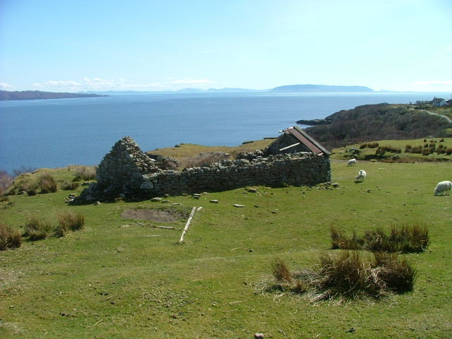 Ruined Croft Building