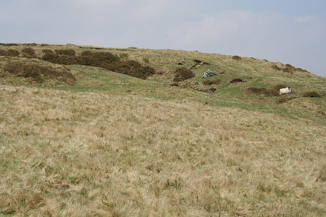 Old Quarry on the Southern Slope of Cox Tor