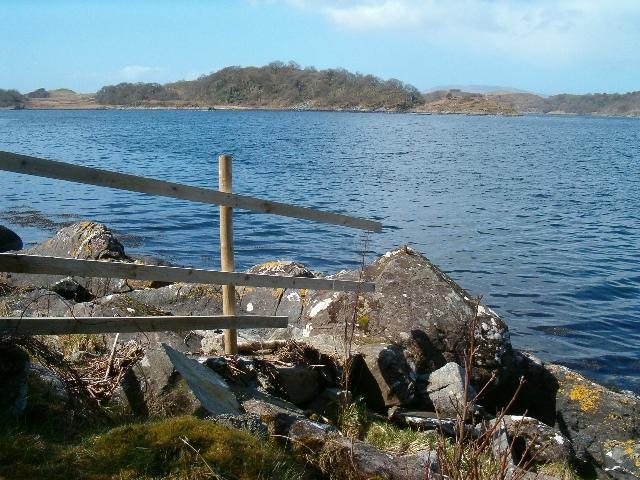 Across Loch Craignish to Eilean Righ