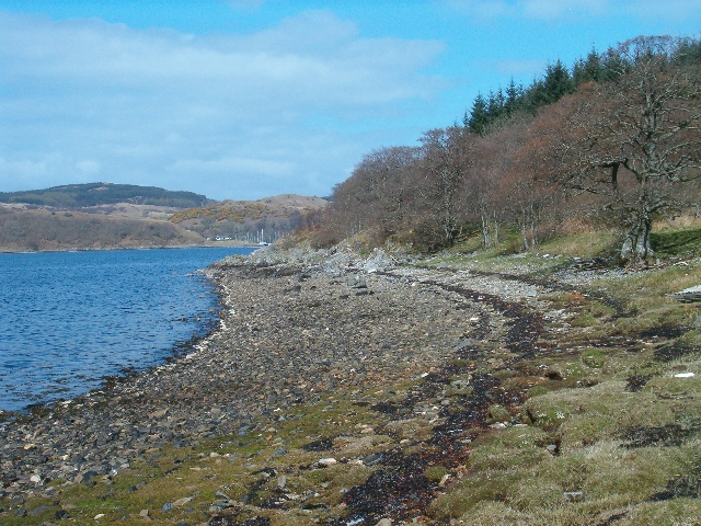 Shore of Loch Craignish
