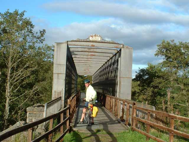 Old railway bridge on the Speyside Way