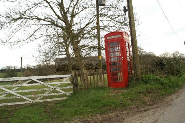 Telephone kiosk, Frogham