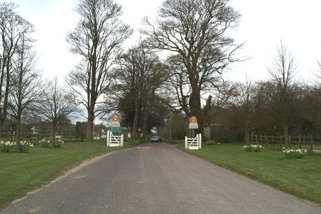 Approach to Coldred, Kent's Best Kept Village