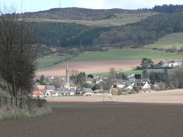 Across fields to Abernethy