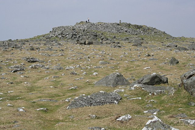The Summit of Cox Tor