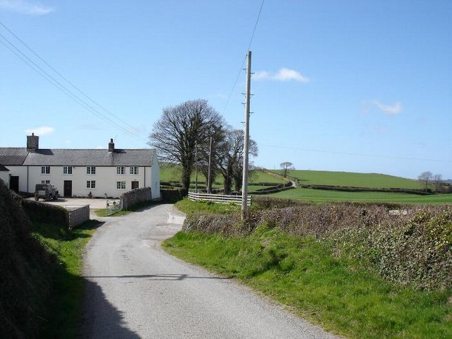 Farm and lane