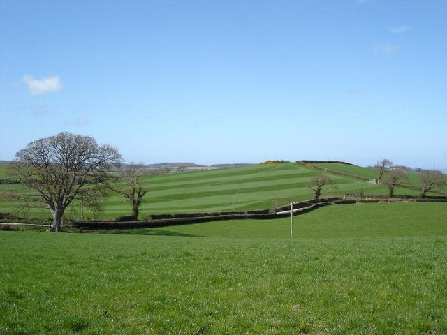 Green fields of  Llannefydd