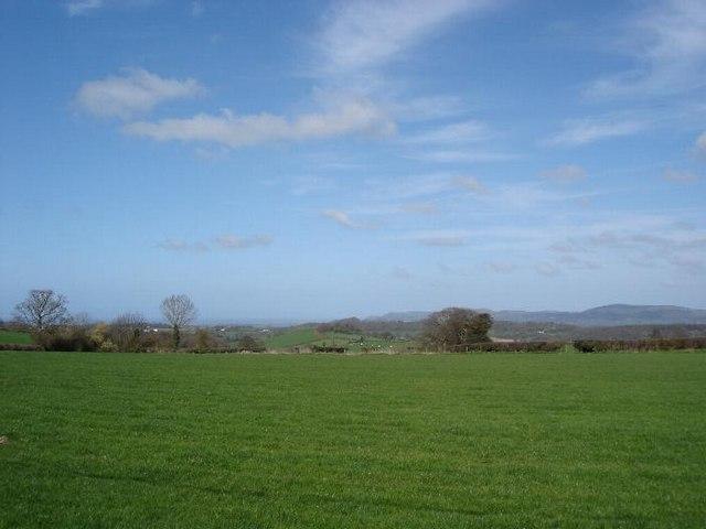 Cefn Berain fields