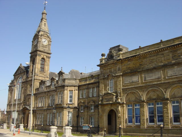 Bootle Town Hall, Oriel Road.
