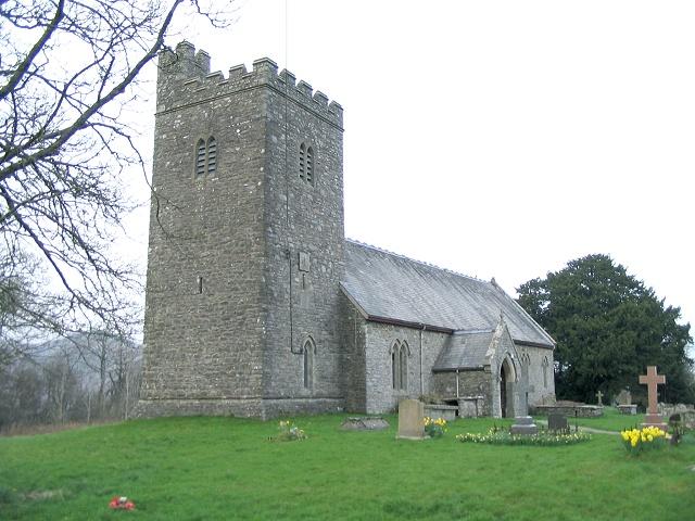 Llanafanfawr Church