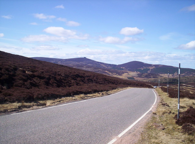 """Clacneveragain"" From Cairn o' Mount Road"