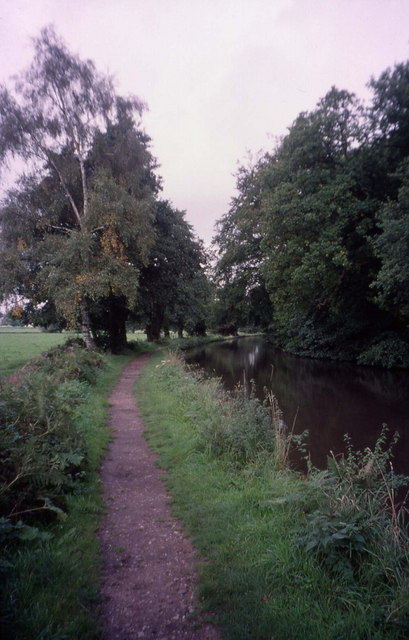 Beside the Trent and Mersey Canal