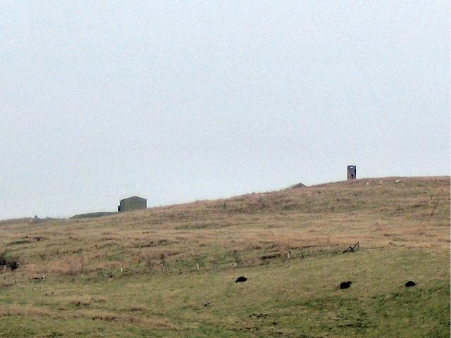 Buildings on Sennybridge artillery range