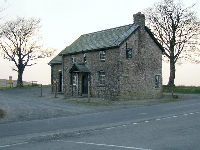 Drover's Arms Inn on Epynt mountain