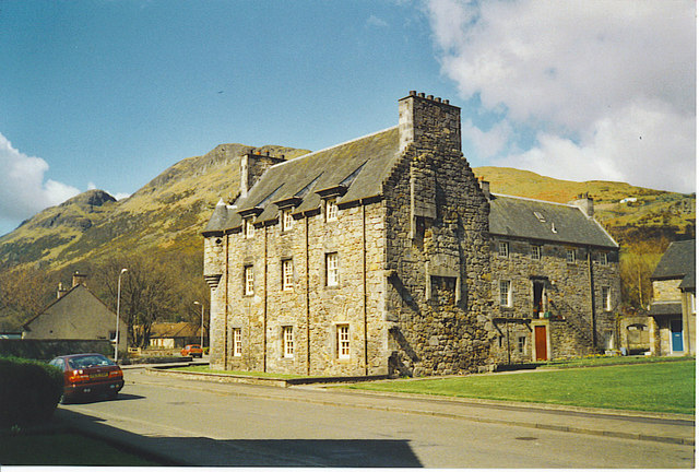 Menstrie Castle, at the Foot of the Ochil Hills
