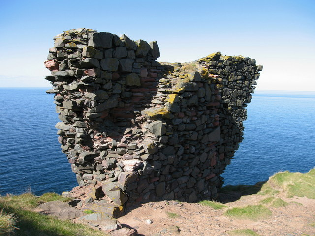 Remains of Fast Castle, Coldingham