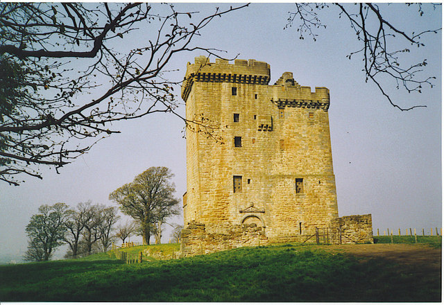Clackmannan Tower from the East.