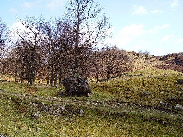Big boulder, Newton
