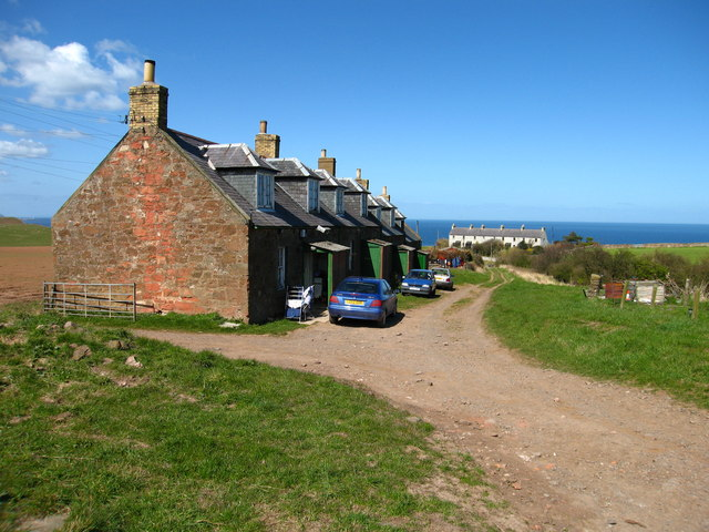 Farm Cottages at Redheugh, Coldingham