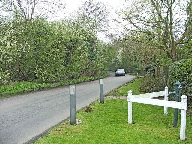 Tyler's Causeway, near Epping Green, Hertfordshire