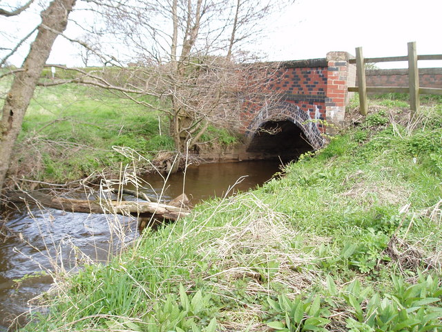 Bridge over Crow Brook, Moss Lane, Nr Lostock Green