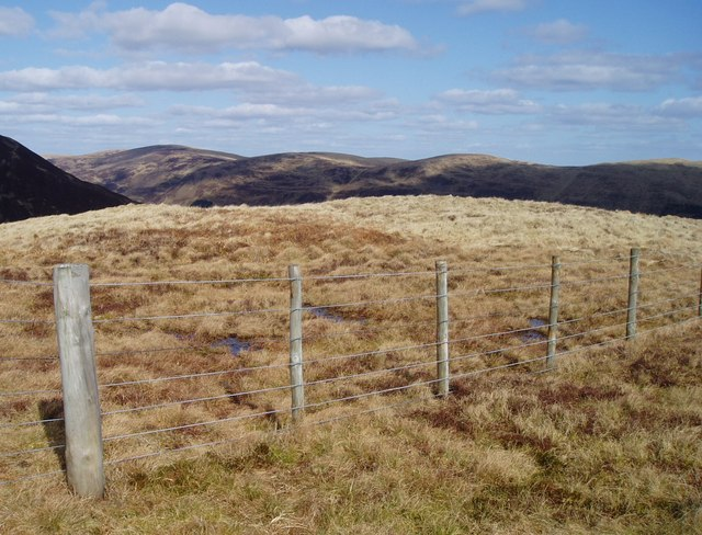 Boggy ground on Saddle Yoke
