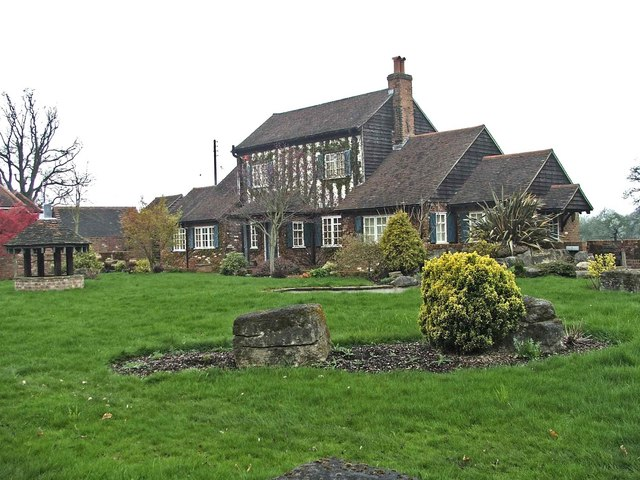 Unusual house on North side of Tyler's Causeway, Hertfordshire