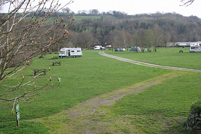 Campsite by the River Tavy